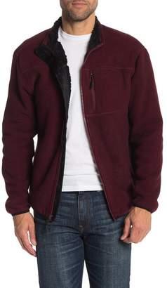 Weatherproof Stripe Polar Fleece Jacket