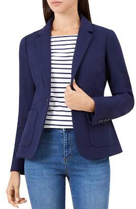 Hobbs London Joella Patch Pocket Blazer