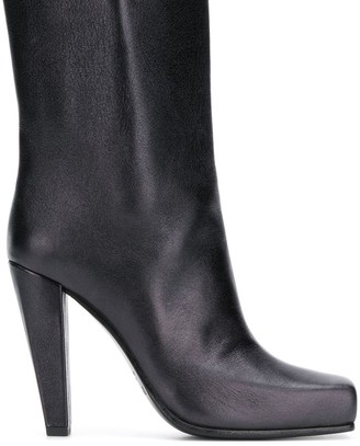 Poiret platform ankle boots