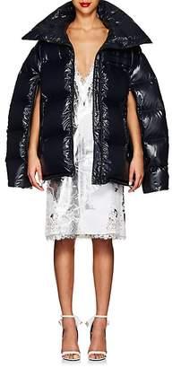 Calvin Klein Women's Tech-Taffeta Oversized Puffer Coat