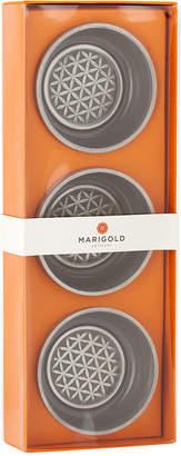 Marigold Artisans Flower of Life Bowls, Set of 3