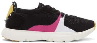 Valentino Black Garavani Sound Sneakers