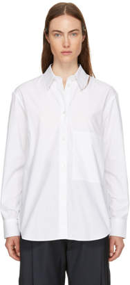 Studio Nicholson White Side Pocket Shirt