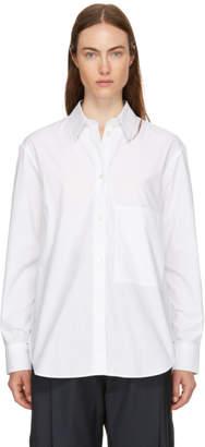 Studio Nicholson White Side Pocket Shirt