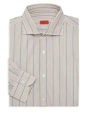 Isaia Striped Dress Shirt