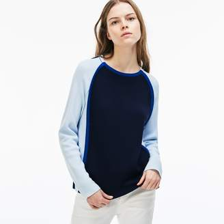 Lacoste Women's Made in France Crew Neck Sweater