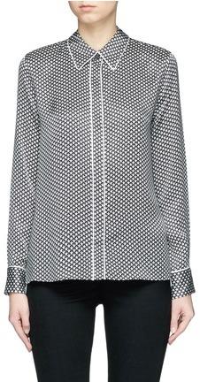 EquipmentEquipment x Kate Moss 'Shiloh' star print silk pyjama shirt