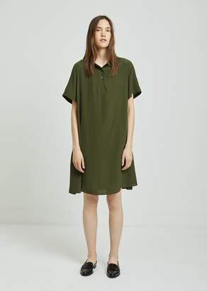Aspesi Silk Polo Dress