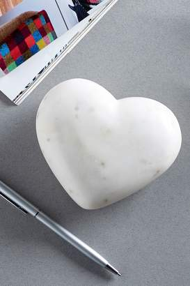 Next Marble Effect Heart Paperweight