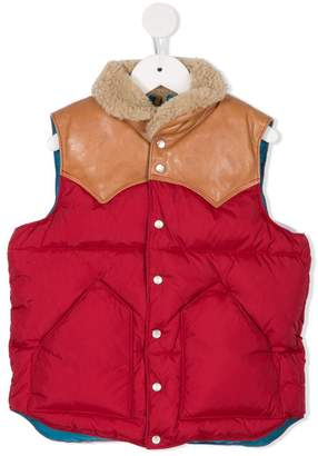 Rocky Mountain Featherbed Denim Dungaree vest
