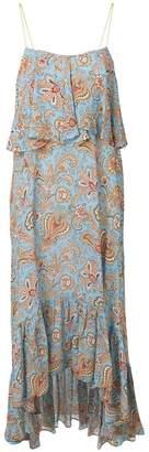 Etro floral paisley print dress