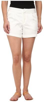 Dockers Petite Petite Pleat Front Shorts $44 thestylecure.com
