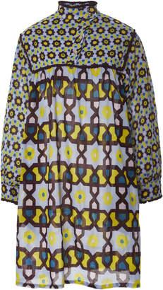 Yvonne S Long Sleeve Cotton Mini Dress