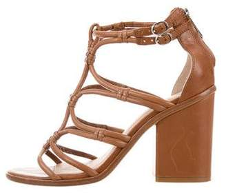 Sigerson Morrison Caged Leather Sandals