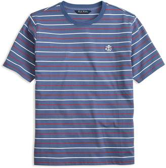 Brooks Brothers Boys' Striped Cotton Tee