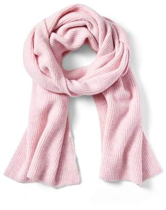 Banana Republic Aire Ribbed-Knit Blanket Scarf