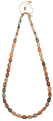 Lola Rose Islington Tie Dye Agate Necklace of Length 80-90cm