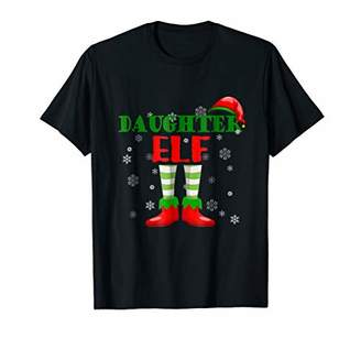 Daughter Elf T-Shirt - Family Matching Christmas Pajamas