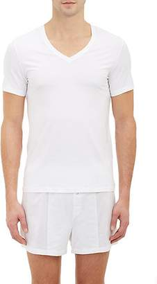 Hanro Men's Superior V-Neck T-shirt - White