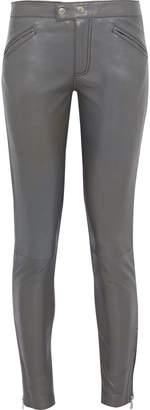 Muu Baa Muubaa Leather Skinny Pants