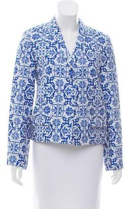 Creatures of the Wind Printed Shawl Lapel Blazer w/ Tags