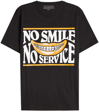 Stella McCartney No Smile, No Service Cotton T-Shirt
