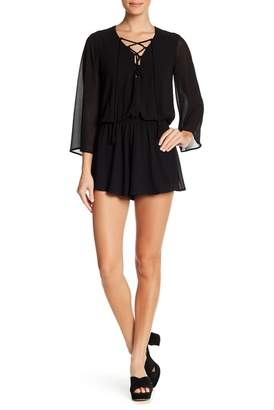 Show Me Your Mumu Tillie Lace-Up Romper
