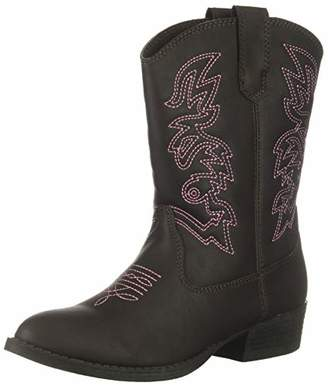 Deer Stags Unisex Ranch Pull On Western Cowboy Fashion Comfort Boot