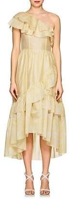 Ulla Johnson Women's Clemente Cotton-Silk Organza Dress - Yellow
