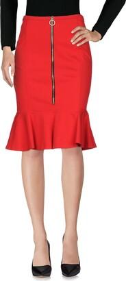 Pinko Knee length skirts - Item 35378357AD