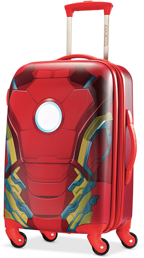 "Marvel Iron Man 21"" Hardside Spinner Suitcase by American Tourister"