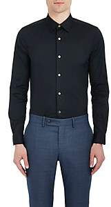 Paul Smith Men's Cotton-Blend Poplin Dress Shirt - Navy