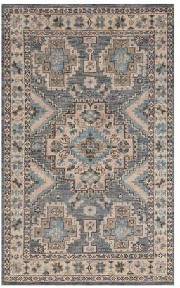 Pottery Barn Halyn Hand-Knotted Rug - Blue Multi
