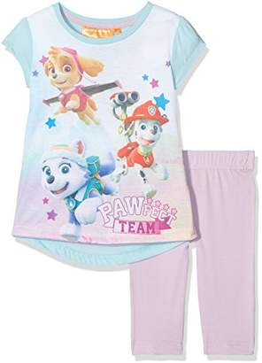 Nickelodeon Girl's Paw Patrol Flying Stars T-Shirt,(Manufacturer Size: 3 Years)