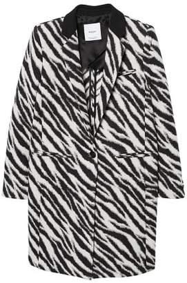 MANGO Zebra printed coat