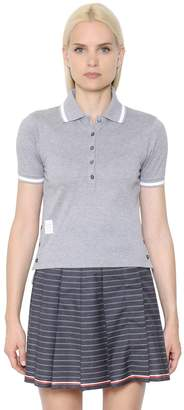 Thom Browne Cotton Piqué Polo Shirt