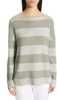 Fabiana Filippi Sequin Stripe Sweater