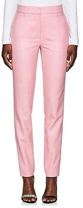 Calvin Klein Women's Checked Wool Trousers - Pink