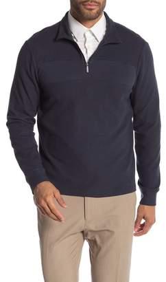 Perry Ellis Quarter Zip Sweater