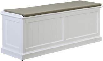 Webster Temple & Hamptons Cushioned Storage Bench