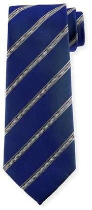 Emporio Armani Arrow Striped Silk Tie