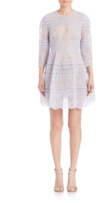 Zimmermann Adorn Embroidered Mini Bell Dress $995 thestylecure.com