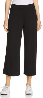 Three Dots Jersey Wide-Leg Pants