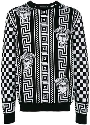 Versace Greek Key print sweatshirt