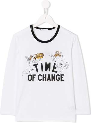 Dolce & Gabbana Time Of Change print sweater