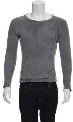 Greg Lauren Oil Stained Woven T-Shirt