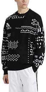 Gosha Rubchinskiy X adidas Men's Logo-Knit Wool-Blend Sweater - Black