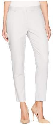 Jones New York Grace Ankle w/ Rivets in Silver/Grey Women's Jeans
