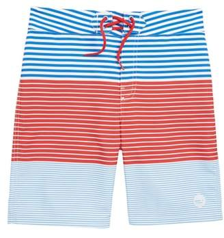 Vineyard Vines Whale Harbor Stripe Board Shorts