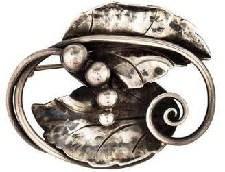Georg Jensen Moonlight Grapes Brooch